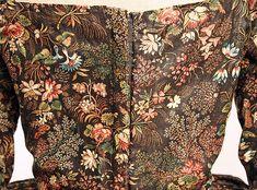 Robe à l'Anglaise Date: 1780–85 Culture: British Medium: cotton Accession Number: 1974.194.2