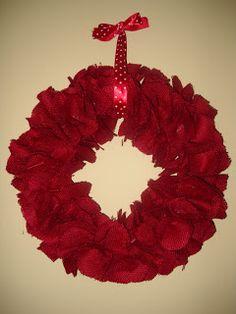 Embracing Change: Valentine's Day Burlap Wreath