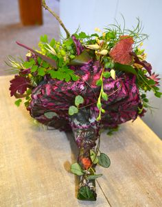 Woodland bouquet inspired by Francoise Weeks