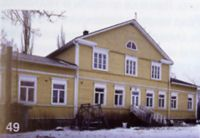 Ellilän kartano - Ellilä Manor. Private house. Actually, owned by my relatives from mother side.