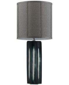 Madison Park Signature Star Glass Table Lamp - Black