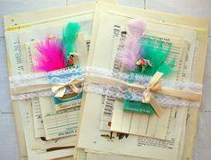 Vintage Paper Love paper kits