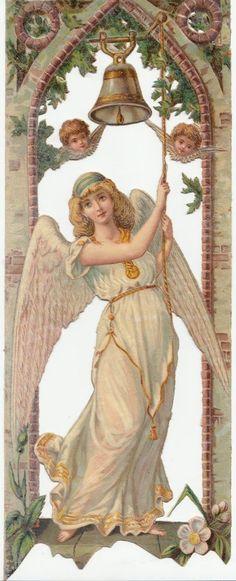 Glanzbilder - Victorian Die Cut - Victorian Scrap - Tube Victorienne - Glansbilleder - Plaatjes : Engel