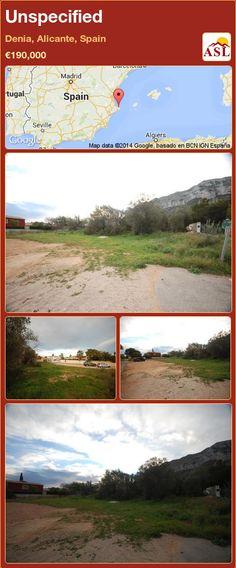 Unspecified in Denia, Alicante, Spain ►€190,000 #PropertyForSaleInSpain