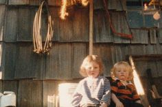 | Matt and Bam Bam sit in front of their old cabin as babies. Look at ...