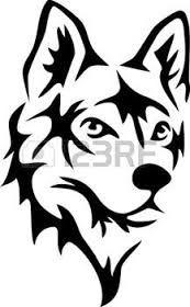 Resultado de imagen para imagen de siluetas  de la marca del lobo