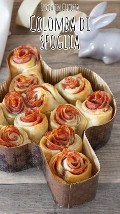 Antipasto, Flaky Pastry, Cooking Recipes, Healthy Recipes, Crescent Rolls, Easter Recipes, Finger Foods, Italian Recipes, Buffet