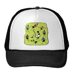 Soccer Mesh Hats