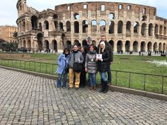 What a great place for a group selfie! Our guide Francesca took this photo in front of the famous monument on February 28th before our Colosseum and ancient city tour. Francesca took our clients through the Colosseum to the second tier which let them imagine exactly what it was like 2000 years ago. For more information about our Colosseum underground tour with arena, palatine hill & Roman Forum:  www.livitaly.com/tour/colosseum-underground-ancient-rome-tour/?src=pinterest