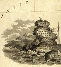 David Rumsey Historical Map Collection | Cartouches, or Decorative Map Titles