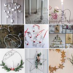 Noël avec du fil de fer Table Decorations, Christmas, Handmade, Inspiration, Taking Pictures, Sons, Wire, Xmas, Biblical Inspiration