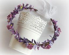 Flower WreathFlower CrownHair AccessoriesBridal by SajmonArt