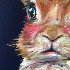 melissa townsend art: Welcome to the portfolio of Melissa Townsend! Bunny Painting, Painting & Drawing, Acrylic Painting Animals, Diy Painting, Bunny Art, Bunny Bunny, Bunnies, Rabbit Art, Guache