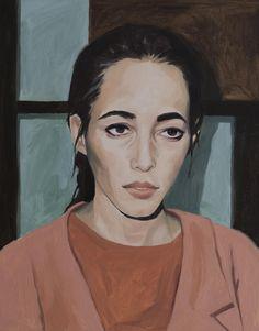 Bridgette McNab, 'Phoebe' oil on canvas, 2017