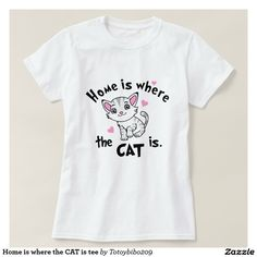 Home is where the CAT is tee