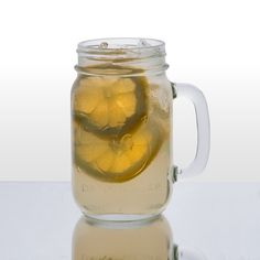 Libbey Mason Jar Drinking Glasses with Handle - 16 oz (97085) 12/Case... Bridal and groom party