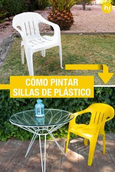 Como Pintar Sillas De Plastico Ikea Hacks Decoracion Hogar Y