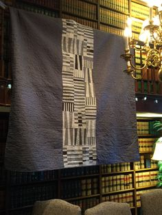 Pattern (Totem) and the fabrics are by Carolyn Friedlander