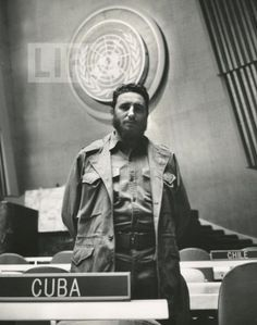 fidel castro at the u n