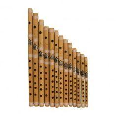Bamboo Flute Set, Cross Blown $59.42