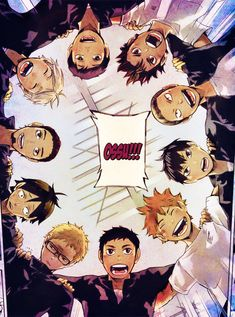 Ossu!!! - Haikyuu!! by dustcity.deviantart.com on @deviantART