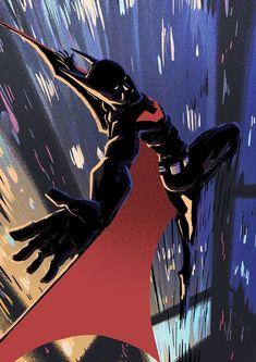 Batman Beyond - Louie Joyce Batman Comic Art, Batman Comics, Batman Robin, Batman Artwork, Batman Arkham, Lego Batman, Superman, Batwoman, Nightwing