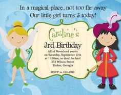 Pirate And Pixie Birthday By Graciegirldesigns77 On Etsy