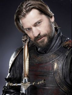Nikolaj Coster-Waldau as Jaime Lannister in Game of Thrones. << I am in love with Jaime Lannister, and it's part Nikolaj Coster-Waldau's fault, he does such a great love portraying Jaime