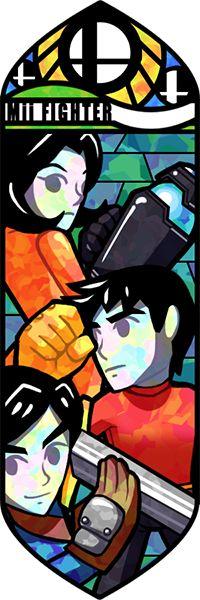 Smash Bros - Mii Fighter by Quas-quas.deviantart.com on @deviantART