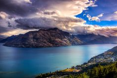 Beautiful Sunset Over Queenstown, NZ. Wow!