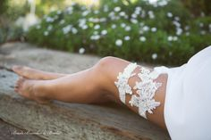 White Lace Garter Set Wedding Garter Set by BeadsBroochesBridal Garter Belt Wedding, Lace Garter, Garter Toss, Garter Belts, Beaded Brooch, Beaded Lace, Bridal Lace, Lace Wedding, Bridal Garters