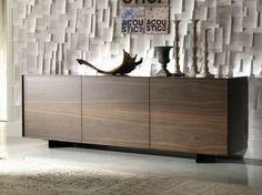 Aparador de madera OXFORD by Cattelan Italia | diseño Andrea Lucatello