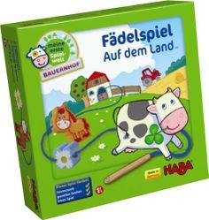 Haba 5580 – Meine erste Spielwelt Bauernhof – Fädelspiel auf dem Land | Your #1 Source for Toys and Games