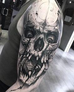 Resident artist - Bruno Santos  @ Dublin Ink #tattoo #art #Dublin #Ireland
