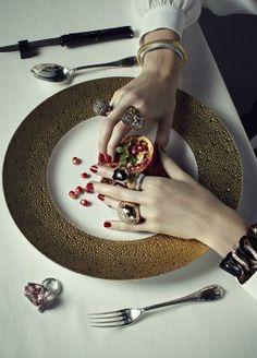 Vogue Japan December 2012 | René Habermacher | Patrycja Gardygajlo