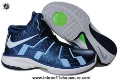 new arrival bb76b 244b0 Basketball Shoes Nike Zoom Lebron Shoes-Royal Blue White and Green. Find  this Pin and more ...