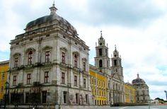 Descubra o Palácio Nacional e Convento de Mafra. O mais sumptuoso convento e monumento barroco português | Escapadelas | #Portugal #Mafra #Palacio #Convento #Barroco