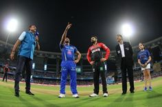 Visakhapatnam: Mumbai Indians skipper Rohit Sharma won the toss and decided to field against Sunrisers Hyderabad in an Indian Premier League (IPL) match here on Sunday. Both teams remained unchanged since their respective last outings. The teams: Mumbai Indians: Rohit Sharma (captain), Parthiv Patel, Ambati Rayudu, Jos Buttler, Kieron Pollard, Krunal Pandya, Hardik Pandya, Harbhajan Singh, Tim Southee, Mitchell McClenaghan,...  Read More