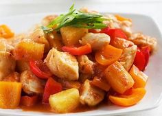 Slow Cooked Sweet & Sour Chicken
