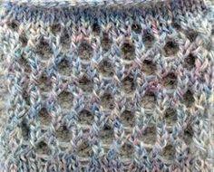 Machine Knitting stitch patterns