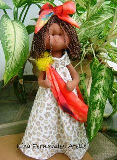 Boneda Dandara  #Boneca Afro brasileira , #Bonecanegra #Boneca negra , Boneca afrodescendente , boneca étnica