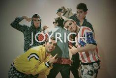 Catalogo ficticio de la marca Joyrich para ingresar al mercado chileno, desarrollado para la universidad. (Matías Flores)
