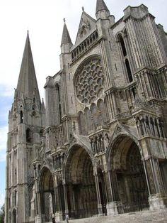 Catedral de Chartres, fachada sul