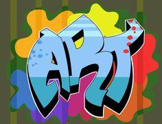 How to Draw Graffiti Names via www.wikiHow.com
