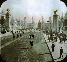 Esplanade des Invalides, Paris, France, 1900
