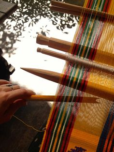 The Language of Weaving: The Back Strap Loom in Guatemala |