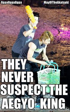 Lol, Sungmin the Aegyo King can be devious too!