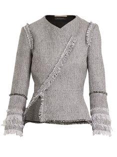 03cb1fa4cb6 Kirkham asymmetric tweed jacket | Roland Mouret | MATCHESFASHION.COM UK
