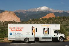 Ronald McDonald Care Mobile serving children in the Southern Colorado community.