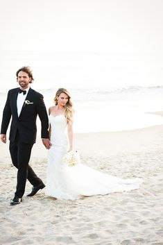 Beach weddin- Photography: Callaway Gable